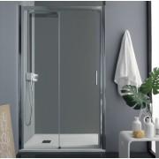 Porta box doccia scorrevole da 100 a 140 cm (TPSC55)
