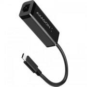 Placa retea AXAGON ADE-SRC USB-C Black