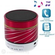 Bluetooth спийкър алуминиев - червен