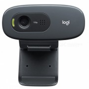Logitech genuino C270 HD 720P USB 2.0 Webcam con microfono incorporado