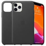 iPhone 11 Pro Apple Leather Case MWYE2ZM/A - Black