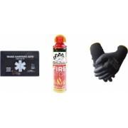 Kit siguranta rutiera Motor Starter and trade 5 ani valabilitate Trusa medicala auto prim ajutor + Stingator auto tip spray 1000 ml vesta