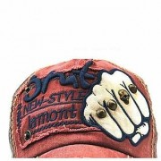 Mens Sports Baseball Cap Embroidered Adjustable Snapback Unisex Cotton jnmt(Mix Colour)(cd-02)