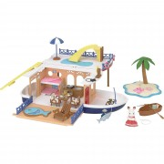 Sylvanian Families Seaside Cruise House Boat