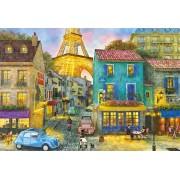 Puzzle Educa - Dominic Davison: Paris Streets, 1500 piese, include lipici puzzle (17122)