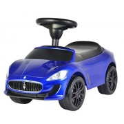 Evezo Maserati GranCabrio MC Ride-On Push Car, Blue