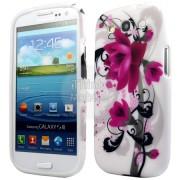Samsung I9300 Galaxy S III Flora V5 Силиконов Калъф + Протектор