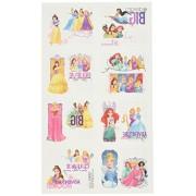 "Amscan Disney Princess Dream Big Birthday Party Temporary Tattoos Favor, Multicolor, 2"" x 1 3/4"""