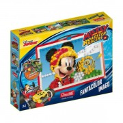 JOC CREATIV FANTA COLOR IMAGO MICKEY AND THE ROADSTER RACERS DISNEY 300 PIESE - QUERCETTI (Q0978)