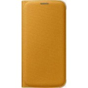 Husa Flip Wallet Samsung Galaxy S6 G920 Yellow