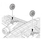 CMK CMK 1:72 Wellington Mk.I Mk. III Mk.VII Mk.X wheels for MPM kit #Q72023
