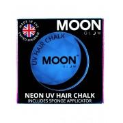 Vegaoo Blå UV-färgkräm för hårslinga - Moonglow© 3,5 g One-size