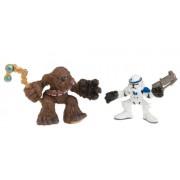 Star Wars Episode 3 Junior Figure 2 Pack Chewbacca & Clone Trooper