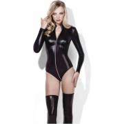 Fever Bodysuit -M- Miss Whiplash Zwart