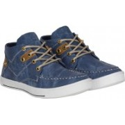 Knot n Lace Lucky Boots For Men(Blue)