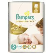 Pampers - Scutece Premium Care 5 Value Pack 44 buc