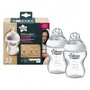 Tommee Tippee Közelebb a természeteshez BPA-mentes cumisüveg duo 260ml
