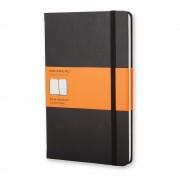 Moleskine Černý linkovaný zápisník v pevné vazbě Moleskine, 192 stran
