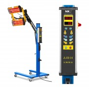 Infrared Paint Dryer - 2.200 W - 2 lamps - digital display