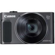 Canon 1072c002 Fotocamera Digitale Compatta 20 Mpx Sensore Cmos Zoom 25x/4x Video Full Hd Wifi Nfc Colore Nero - 1072c002 Powershot Sx620 Hs