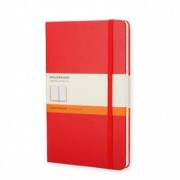 Unbranded Classic notebook large ruled hard red