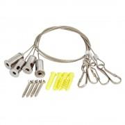 HudsonReed Câbles suspension pommeau de douche encastrable - Jeu de 4