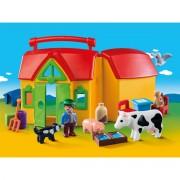 Playmobil Mitnehm-Bauernhof mit Tieren 6962