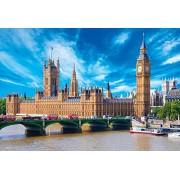 1000 piece jigsaw puzzle (26x38cm) Westminster Palace Big Ben