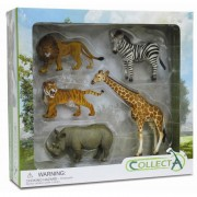 Set 5 figurine Animale salbatice Collecta, 3 ani+
