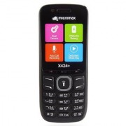 Micromax X424+ Dual Sim 1750 mAh Battery 1.8 Inch Display Mobile With Dual Camera FM Torch And Music Ringtones