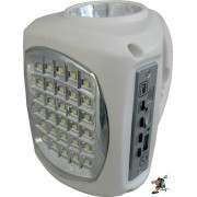 UltraTec Lil' Bud AC/DC Emergency Light (White)