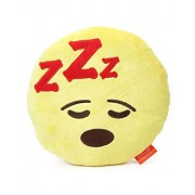 "Emoji Plush Pillow - Best Gift for Friends, Family, Home, Car & Loved ones | Emoticons as Stuffed Soft Toys | Premium Quality - Import | Certified Safe (EN71) & Official ""emoji"" - The Iconic Brand by My Baby Excels (Emoji Feeling Sleepy)"