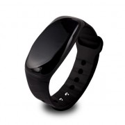 Bratara fitness Overmax Touch Go 3.0, iOS, Android, Bluetooth, Negru