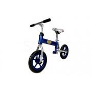 """Rowerek biegowy z amortyzatorem niebiesko-szary 12"""""""