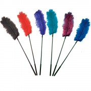 Plumeau Ostrich Feather - Couleur : Noir