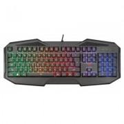 Геймърска клавиатура trust gxt 830-rw avonn gaming keyboard, черна, 21621