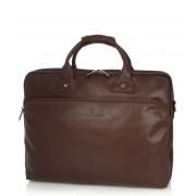 Castelijn & Beerens Crossbodytas Firenze Laptop Bag 17 inch Bruin