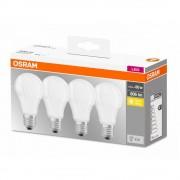 Set 4 becuri Led Osram, E27, 9W, 806 lumeni, lumina calda(2700K) 000004058075819450