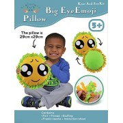 Big Eye Face Craft Kids Sewing Kit, Offers Hours of Fun for Boys and Girls, Emoji, Sew and Stuff Kit, Ideal Kids...