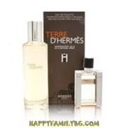 Hermes Комплект Terre d'Hermes M Set - refillable spray edt 30 ml + splash edt 125 ml***