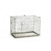Cușcă metalică Beeztees - 2 uși 89 x 60 x 66 cm