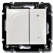 Светорегулятор нажимной 400Вт Legrand Valena белый