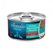 Purina Pro Plan Focus Adult Classic Urinary Tract Health Formula Beef & Chicken Entree Canned Cat Food, 3-oz, case of 24