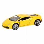 Lamborghini Speelgoed gele Lamborghini Huracan LP610-4 auto 12 cm - Action products