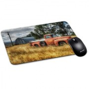 100yellow Mouse Pad | Vintage Mouse Pad | Waterproof Coating Gaming Mouse Pad with Black Base