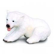 Pui de Urs sezand S - Animal figurina