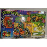 Turtle Party Wagon Teenage Mutant Ninja Turtles TMNT 25th Anniversary Playmates 2009