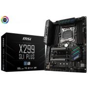 MSI X299 SLI PLUS X299 Chipset LGA 2066 Motherboard
