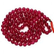 Red Agate Mala Natural & original beads mala hakik stone by Jaipur Gemstone