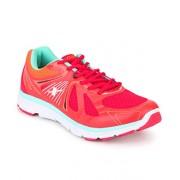 Sparx Men's Red Black Mesh Running Shoes (SX0251G)-8 UK